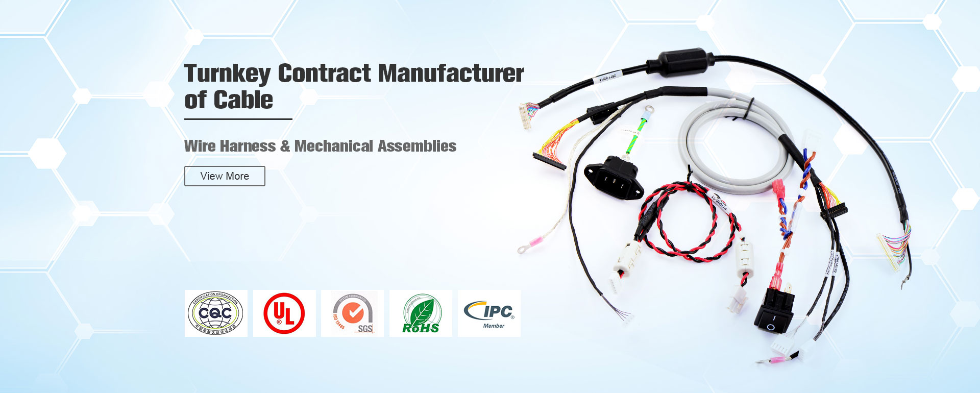 Turnkey Contract Manufacturer of Cable