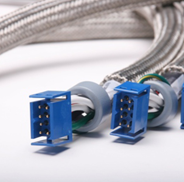 Medical Cable: Cable Assembly with 8P Connector& Magnetic Ferrite