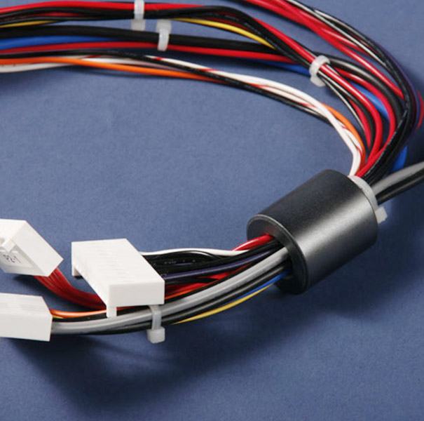 Wire & Cable Harness for Medical Devices:105841-04,Cable Assembly with 1~2~3~4P Connector&Magnet Ferrite