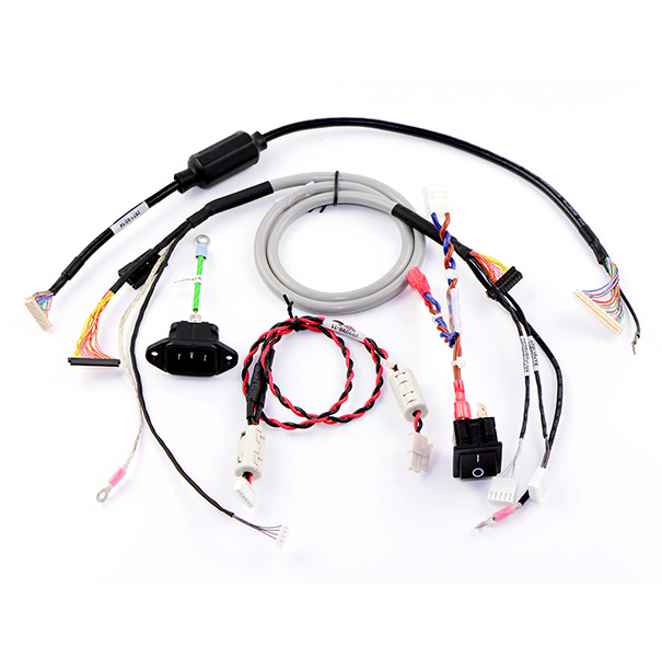 Wire & Cable Harness for Medical Devices:351098/353442/136700/136037,Cable assembly with 2~3~5~6~8~20P connector&Ferrite magnets&Switch