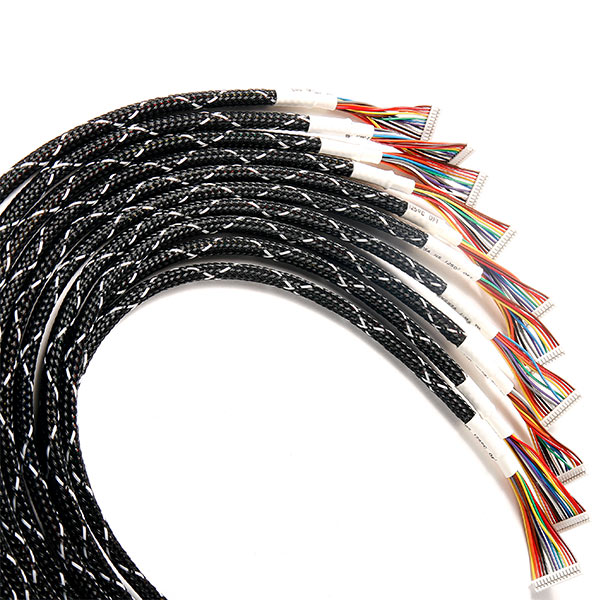 Wire & Cable Harness for Industrial Products:Cable Assembly with *P Connector&Sleeving