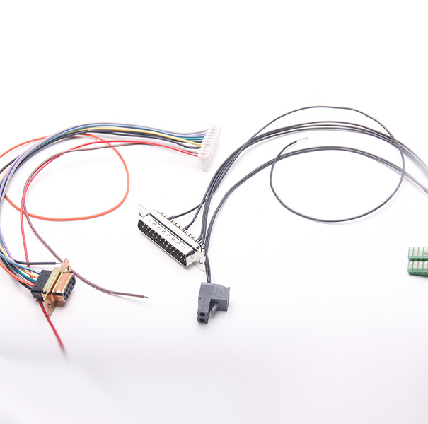 Wire & Cable Harness for Industrial Products:Cable Assembly with *P D-sub Connector