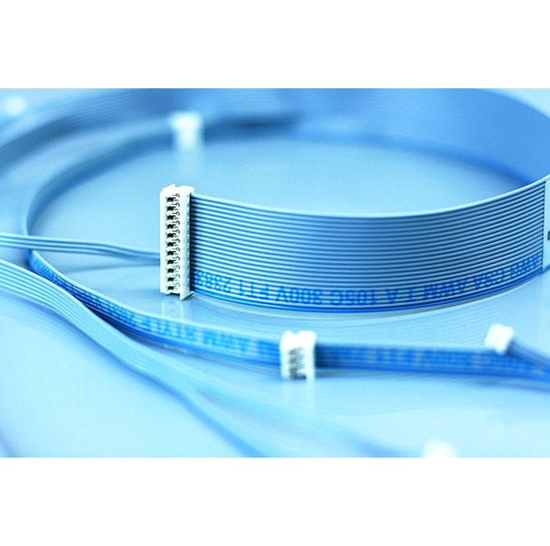 Wire & Cable Harness for Industrial Products;350772-01: Flat cable with 12P connector, PITCH 2.54mm
