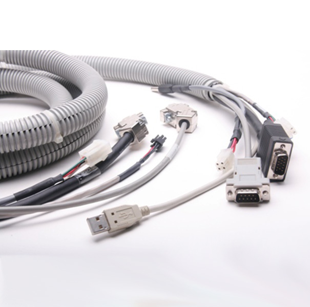 Wire & Cable Harness for Computers: Cable Assembly with *P D-sub& USB Connector