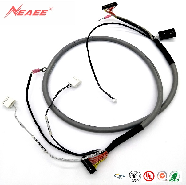 Medical device/transmission:  136037-01,Cable assembly with 4~5~20P connector,PITCH 2.54mm