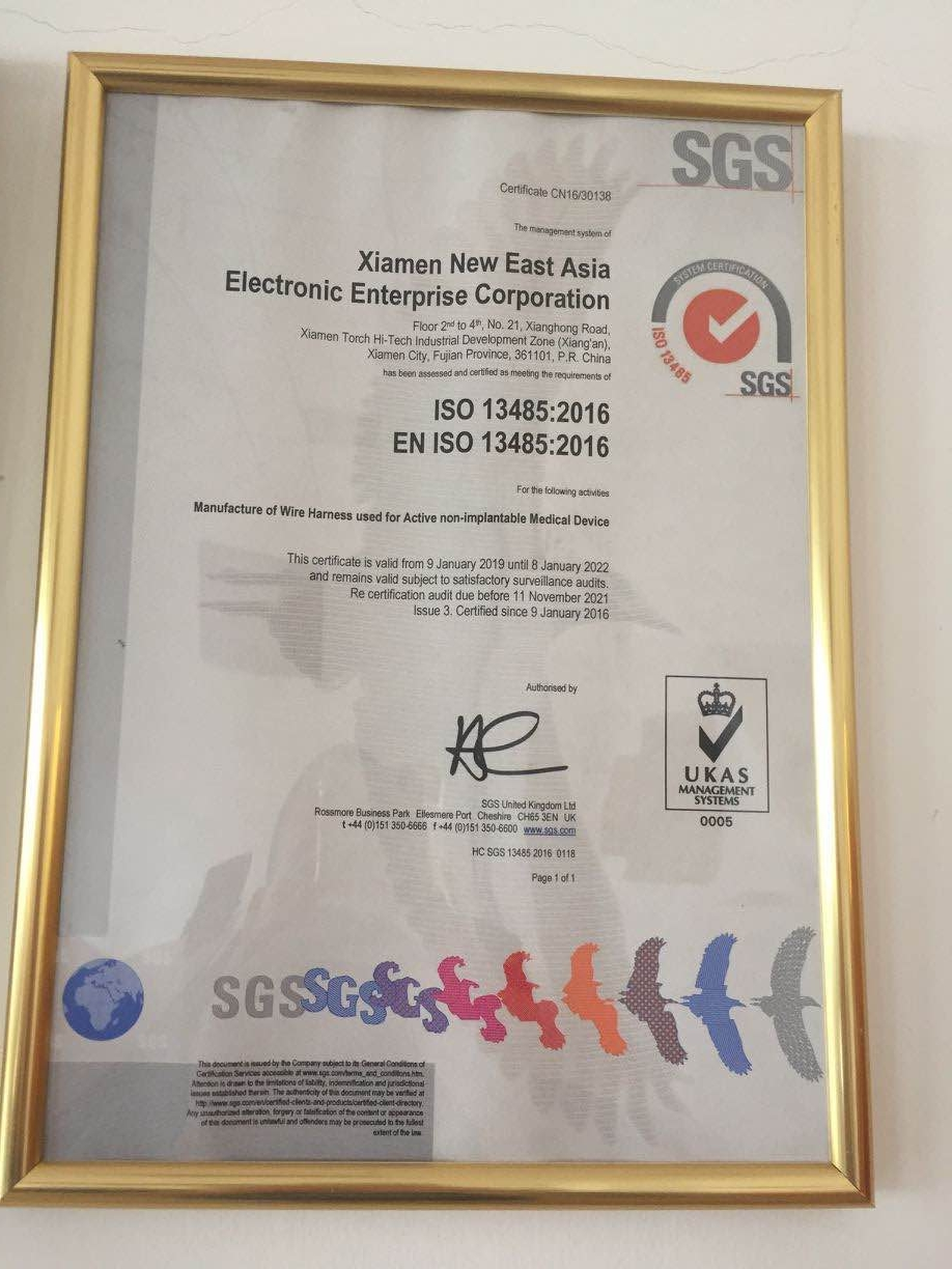ISO13485:2016 Certification